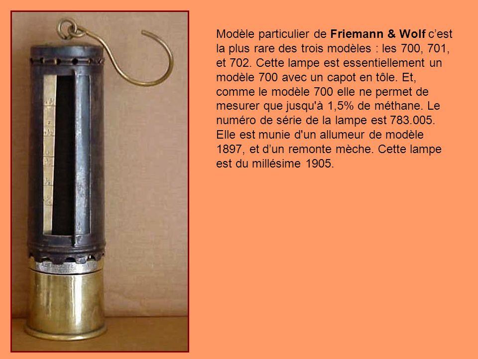 Modèle particulier de Friemann & Wolf c'est la plus rare des trois modèles : les 700, 701, et 702.
