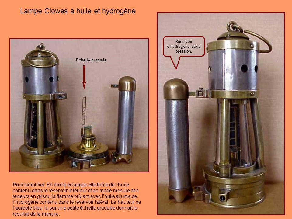 Réservoir d'hydrogène sous pression.