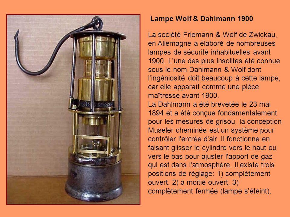 Lampe Wolf & Dahlmann 1900