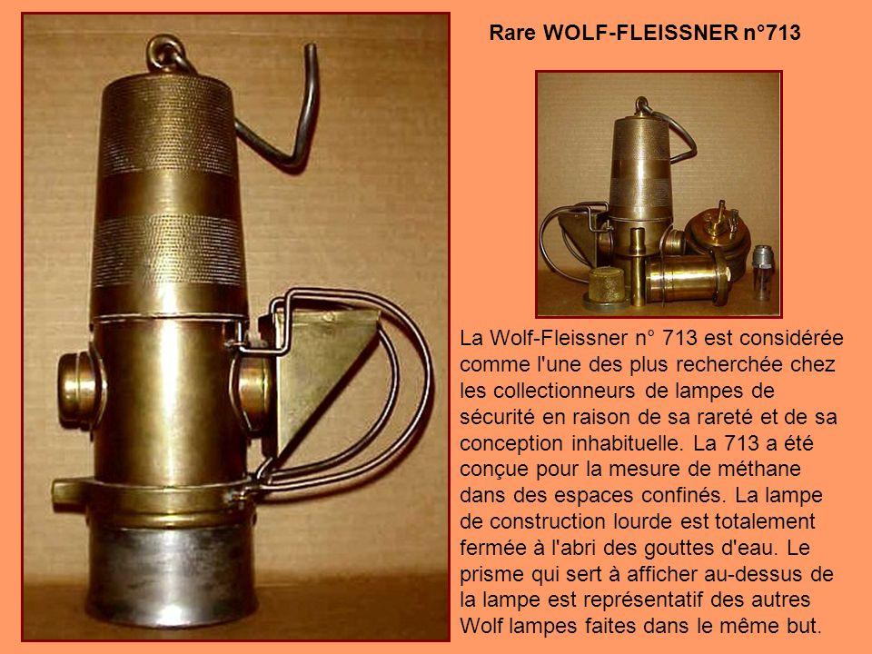 Rare WOLF-FLEISSNER n°713