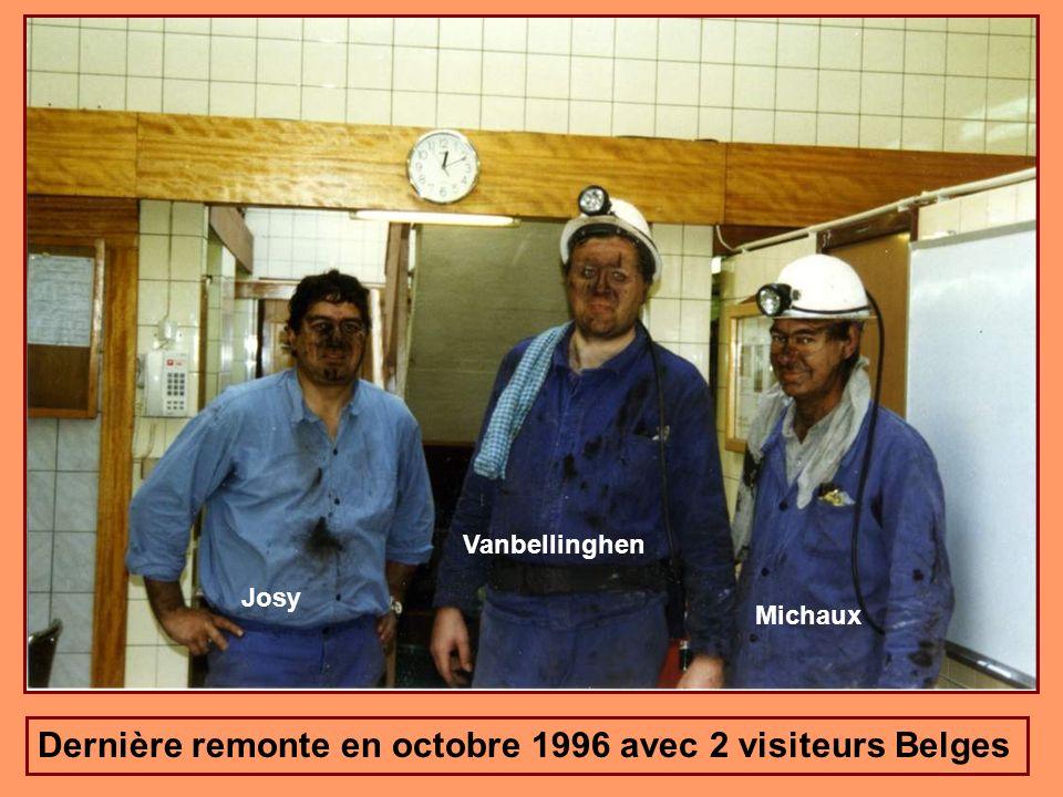 Dernière remonte en octobre 1996 avec 2 visiteurs Belges
