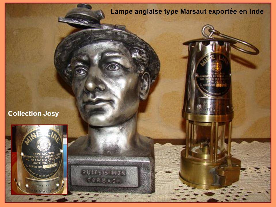 Lampe anglaise type Marsaut exportée en Inde