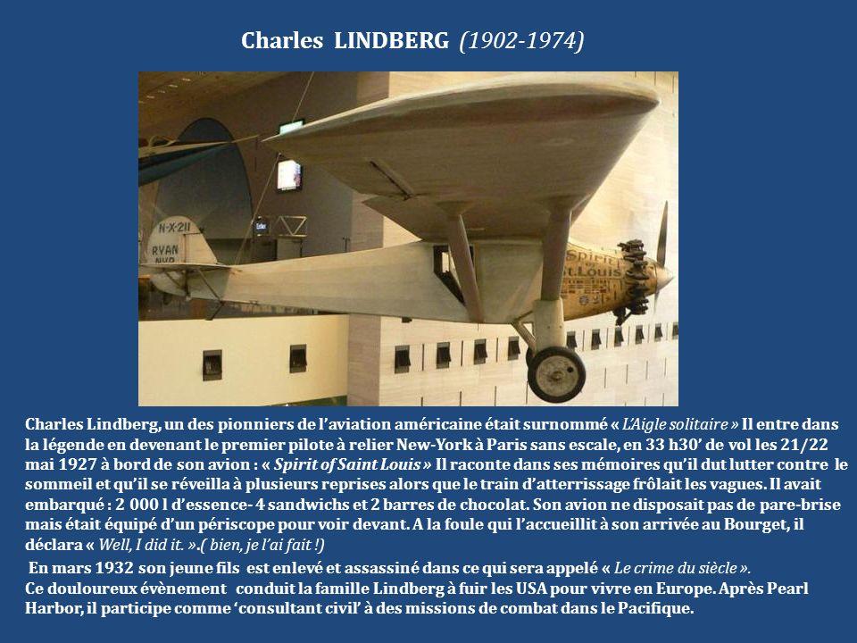 Charles LINDBERG (1902-1974)