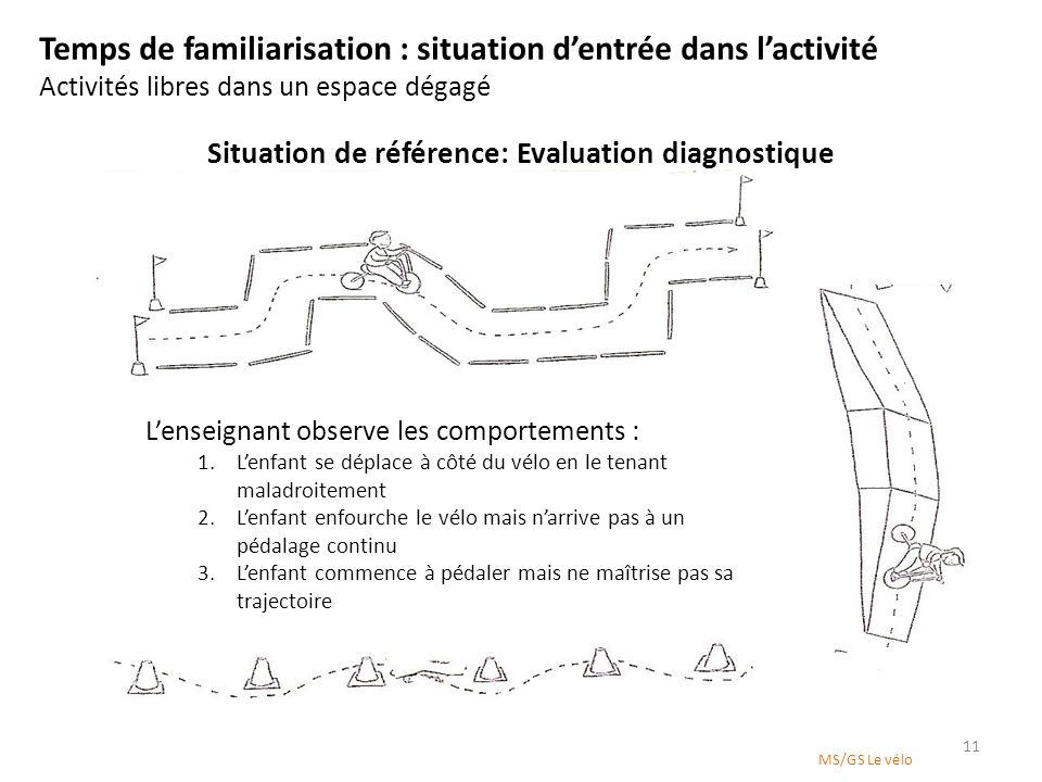 Situation de référence: Evaluation diagnostique