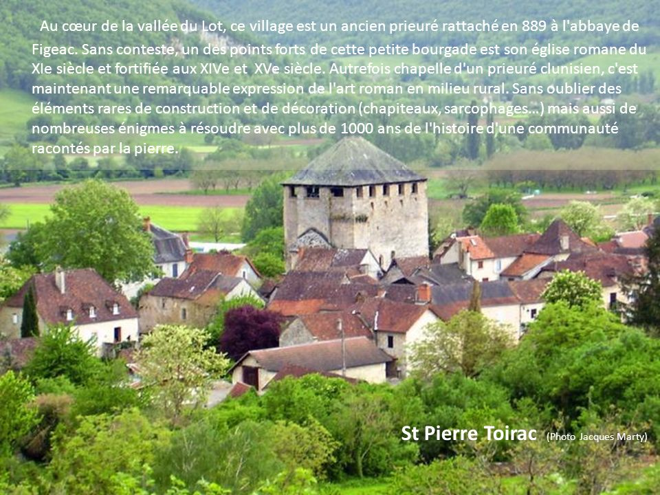 St Pierre Toirac (Photo Jacques Marty)