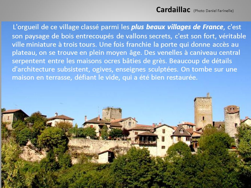 Cardaillac (Photo Daniel Farinelle)