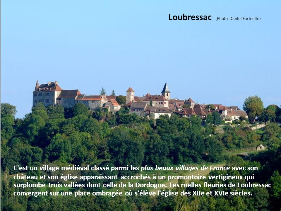 Loubressac (Photo Daniel Farinelle)