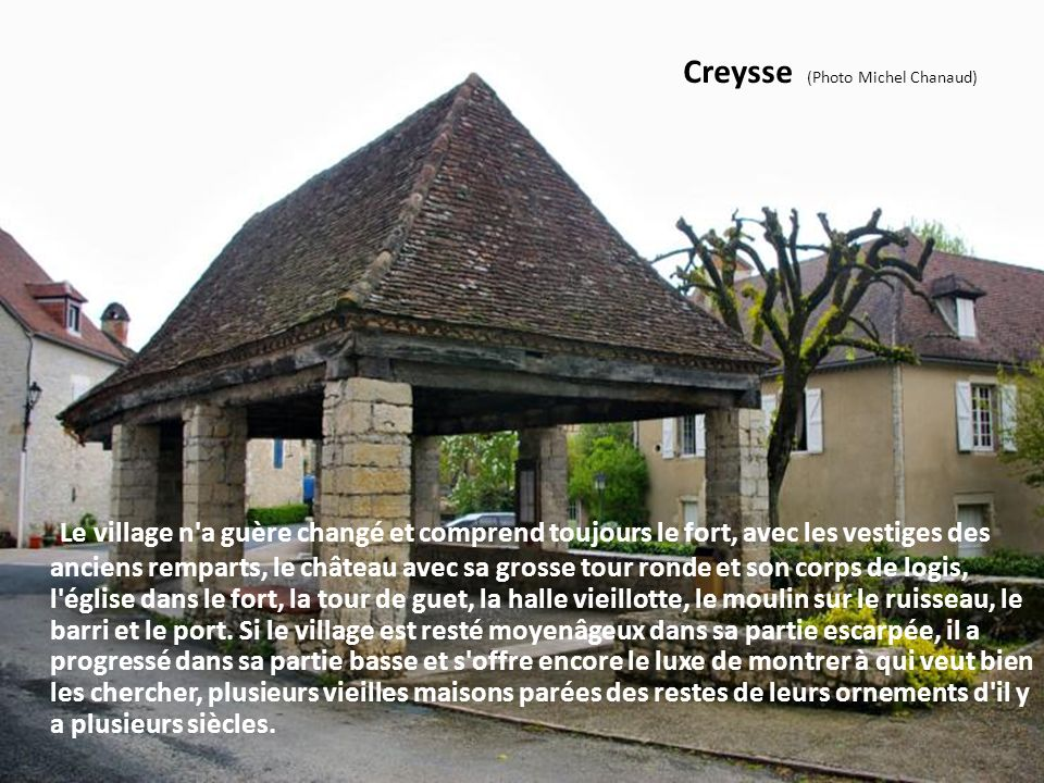 Creysse (Photo Michel Chanaud)