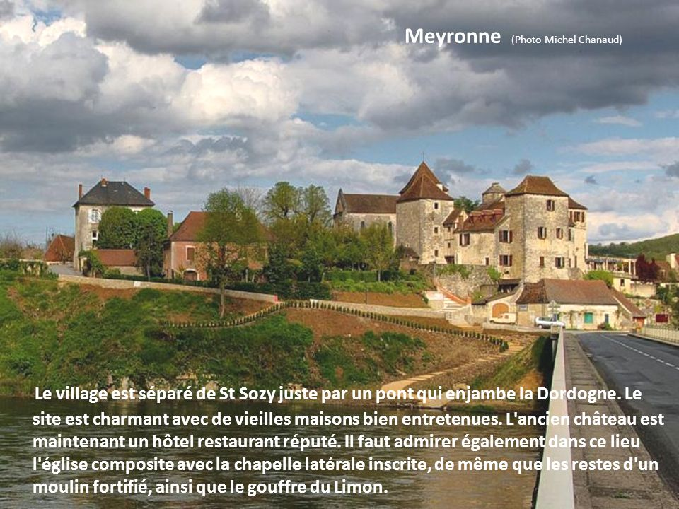 Meyronne (Photo Michel Chanaud)