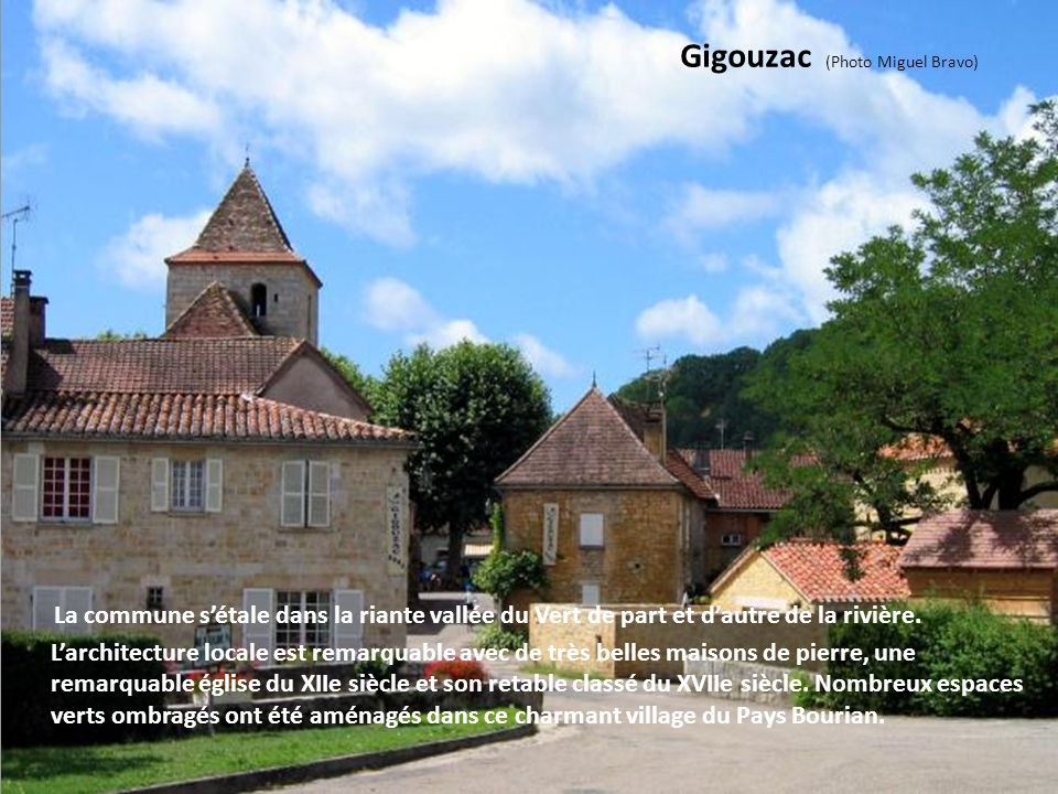 Gigouzac (Photo Miguel Bravo)