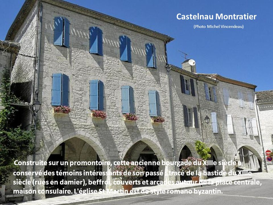 Castelnau Montratier (Photo Michel Vincendeau)