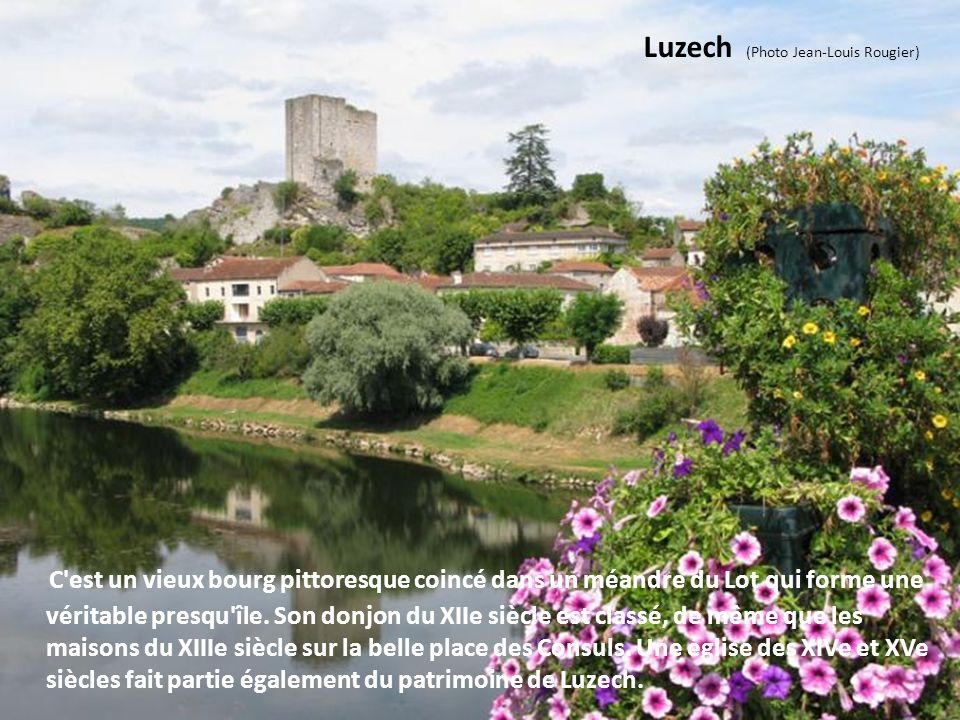 Luzech (Photo Jean-Louis Rougier)
