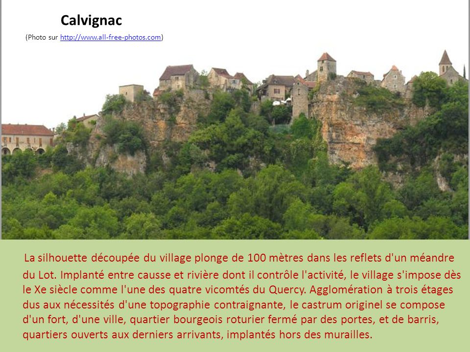 Calvignac (Photo sur http://www.all-free-photos.com)