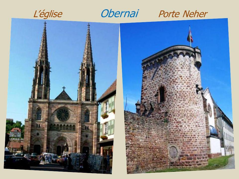 L'église Obernai Porte Neher