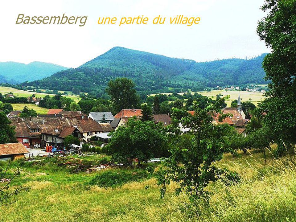 Bassemberg une partie du village