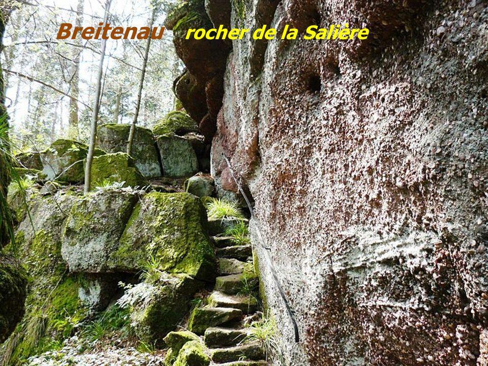 Breitenau rocher de la Salière