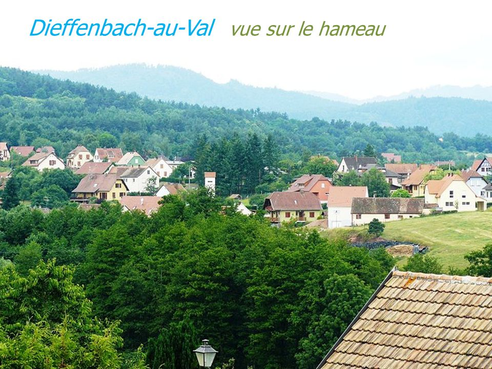 Dieffenbach-au-Val vue sur le hameau