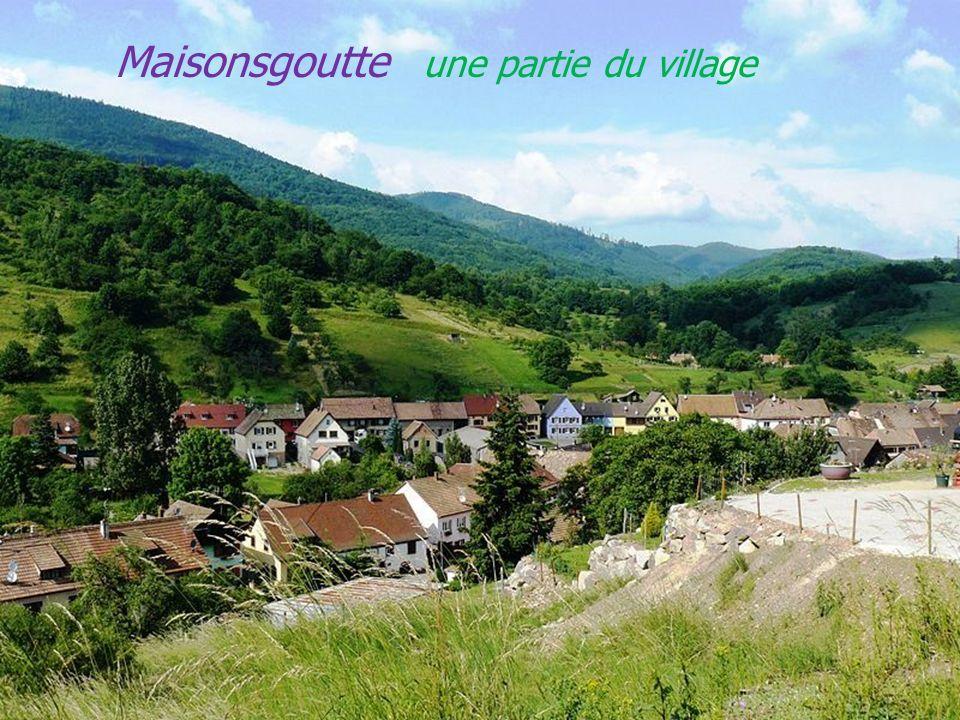 Maisonsgoutte une partie du village