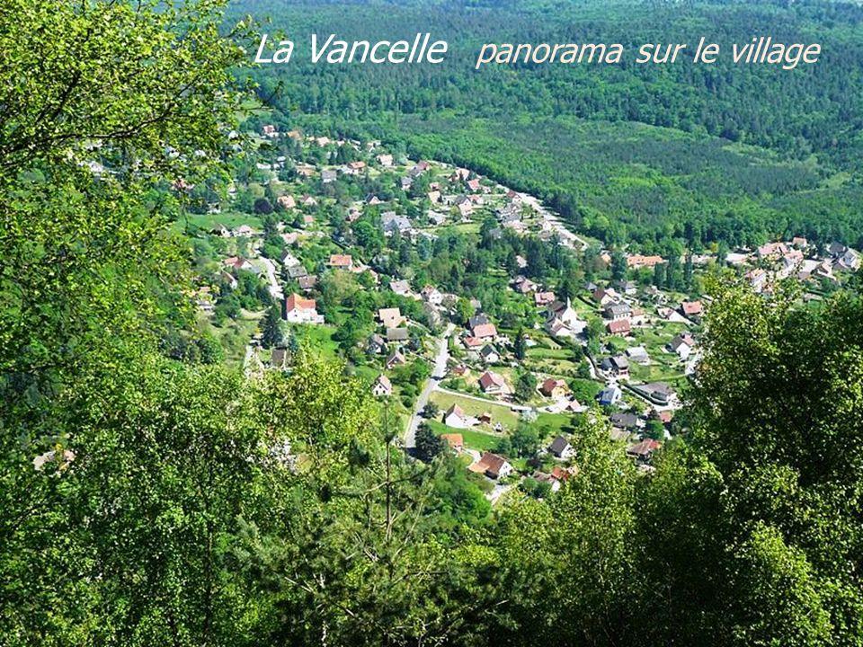 La Vancelle panorama sur le village