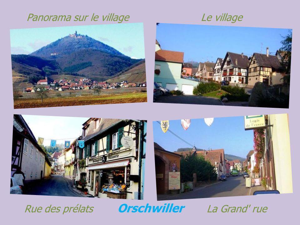Panorama sur le village Le village