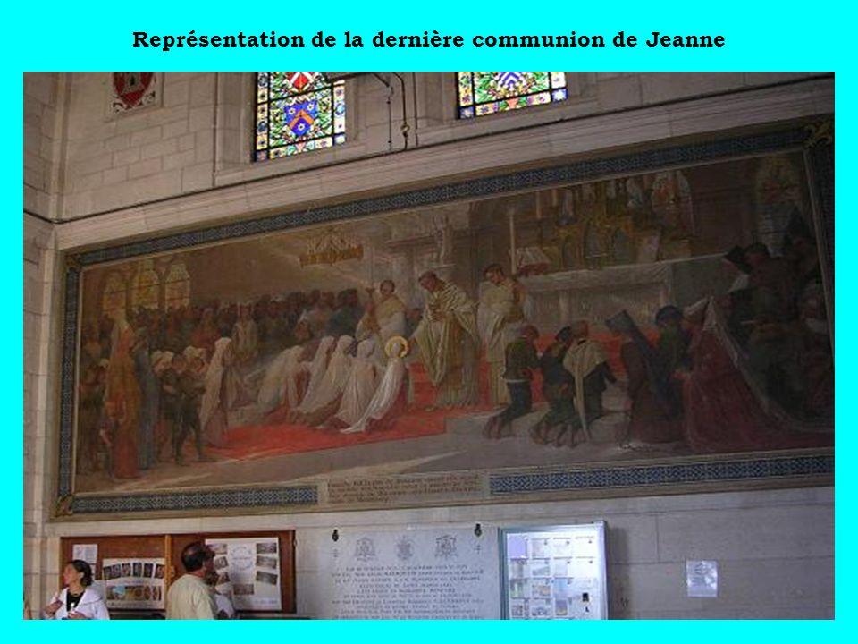 Représentation de la dernière communion de Jeanne