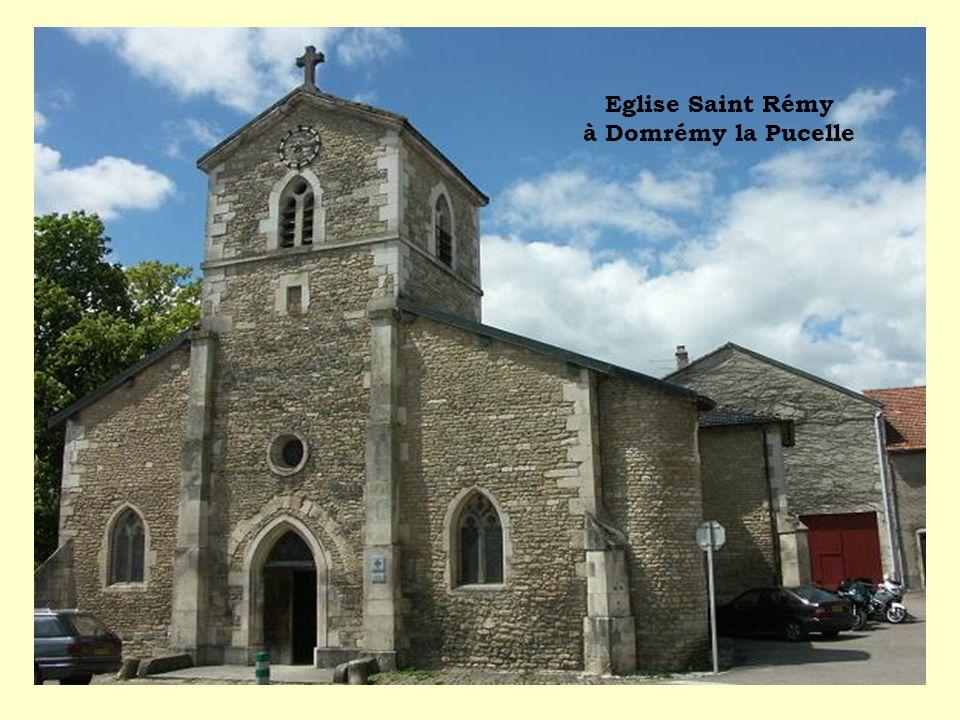 Eglise Saint Rémy à Domrémy la Pucelle