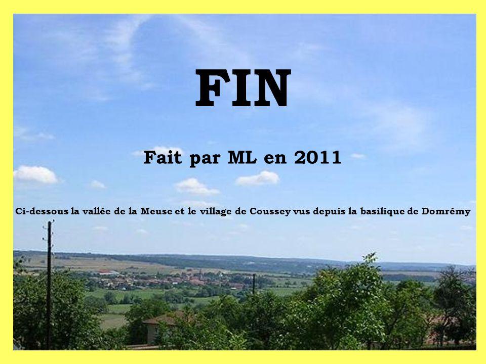 FIN Fait par ML en 2011.