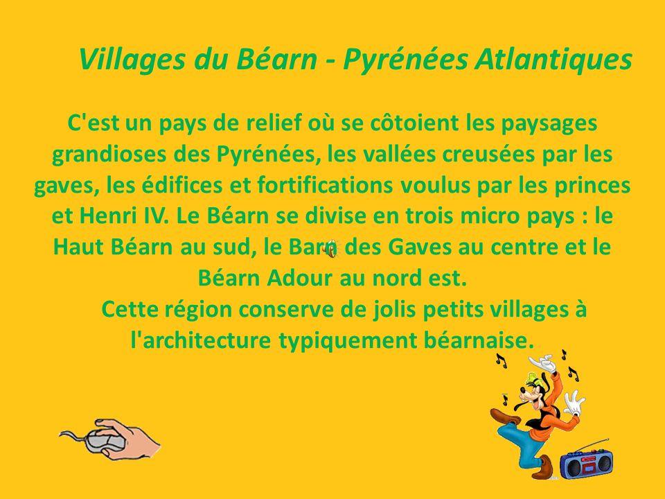 Villages du Béarn - Pyrénées Atlantiques