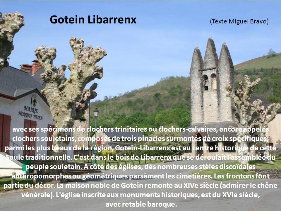 Gotein Libarrenx (Texte Miguel Bravo)