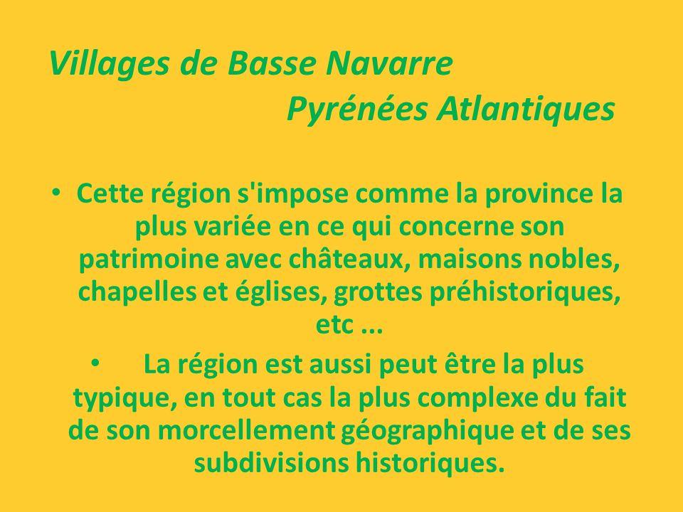 Villages de Basse Navarre Pyrénées Atlantiques