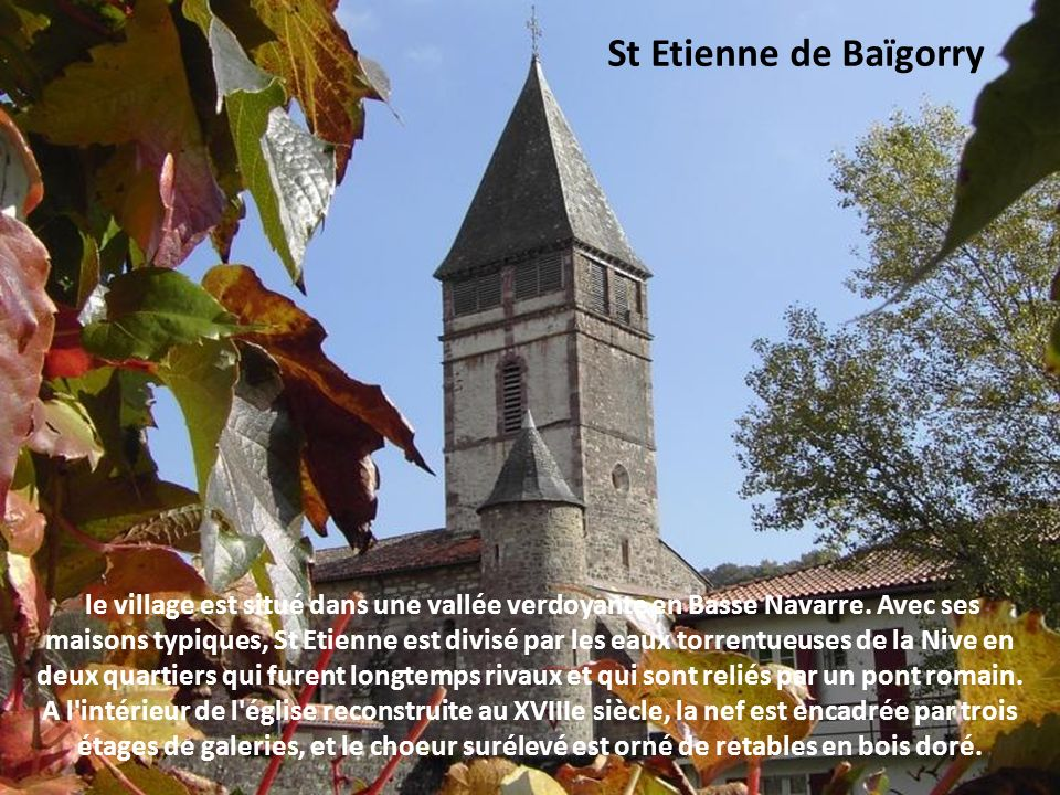 St Etienne de Baïgorry