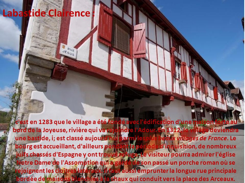 Labastide Clairence :