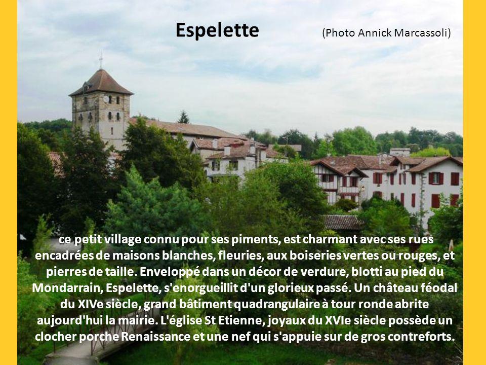 Espelette (Photo Annick Marcassoli)