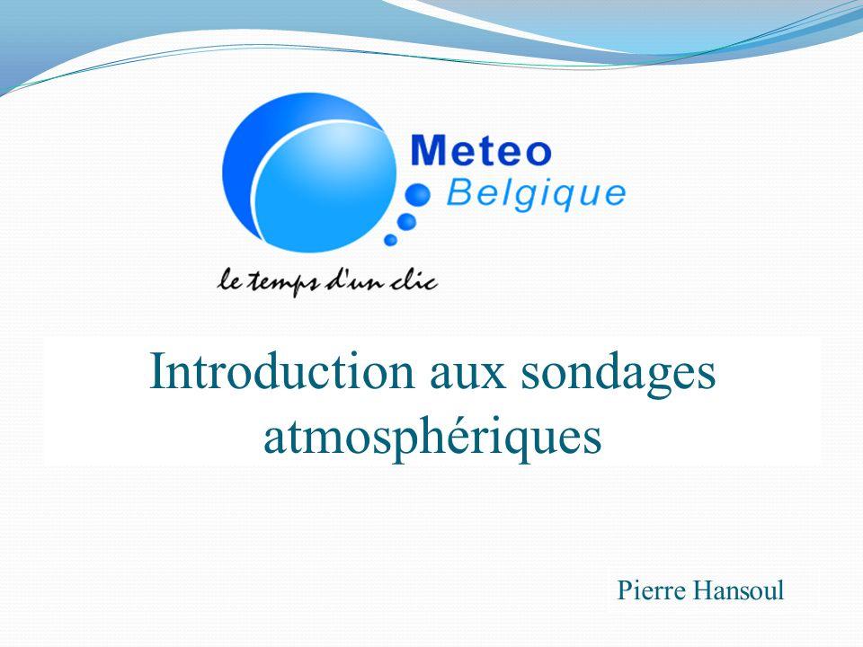 Introduction aux sondages atmosphériques