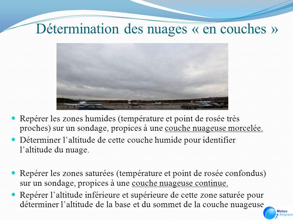 Détermination des nuages « en couches »