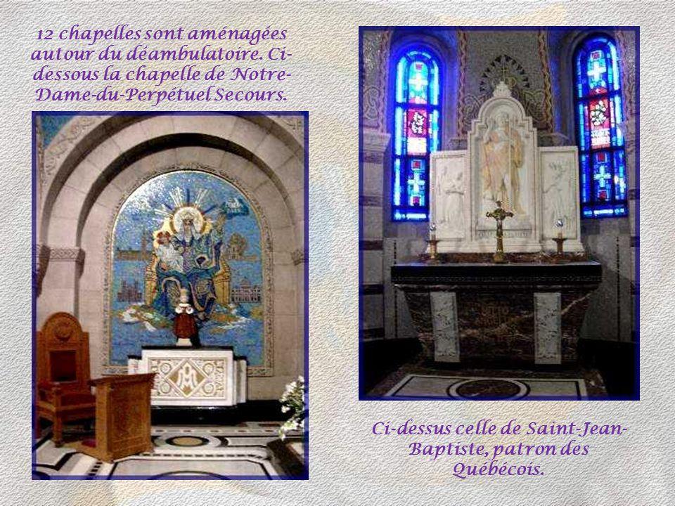 Ci-dessus celle de Saint-Jean-Baptiste, patron des Québécois.