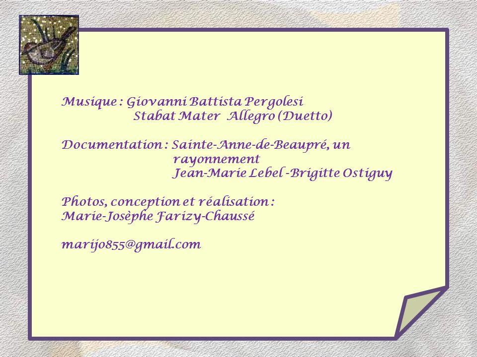 Musique : Giovanni Battista Pergolesi