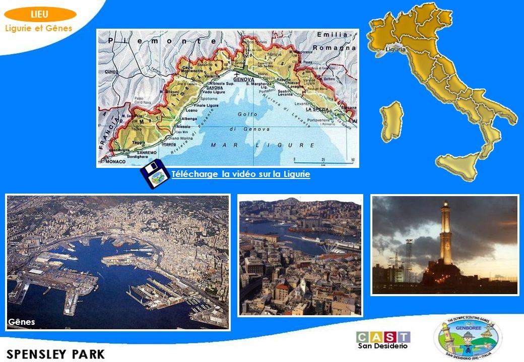 LIEU Ligurie et Gênes Télécharge la vidéo sur la Ligurie Gênes