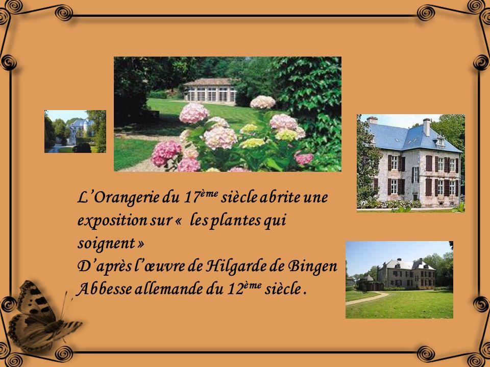 L'Orangerie du 17ème siècle abrite une exposition sur « les plantes qui soignent »