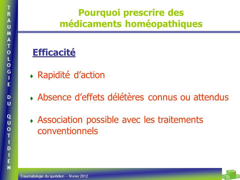 Pourquoi prescrire des médicaments homéopathiques