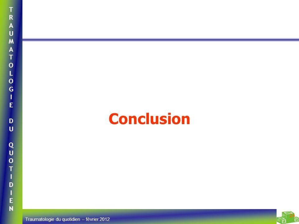 Conclusion Commentaires __________________________ Médecin 24