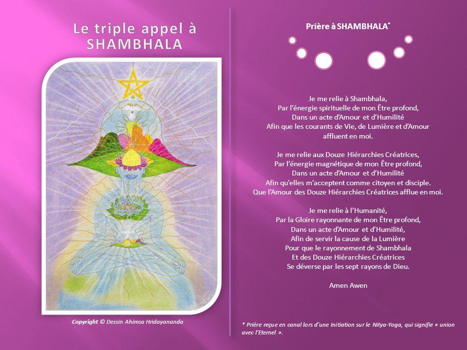 Le triple appel à SHAMBHALA