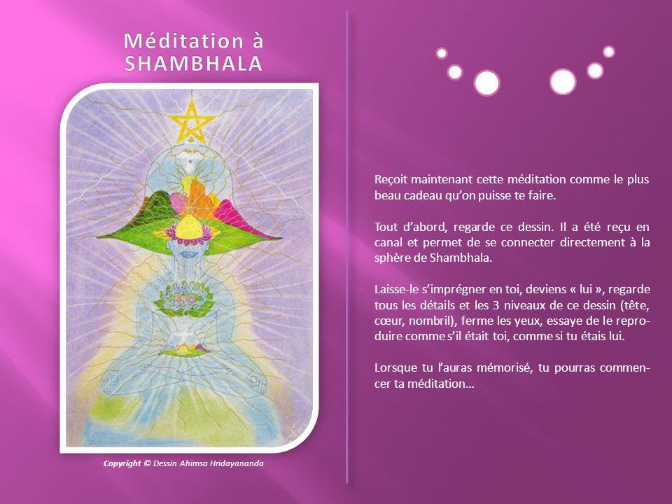 Méditation à SHAMBHALA