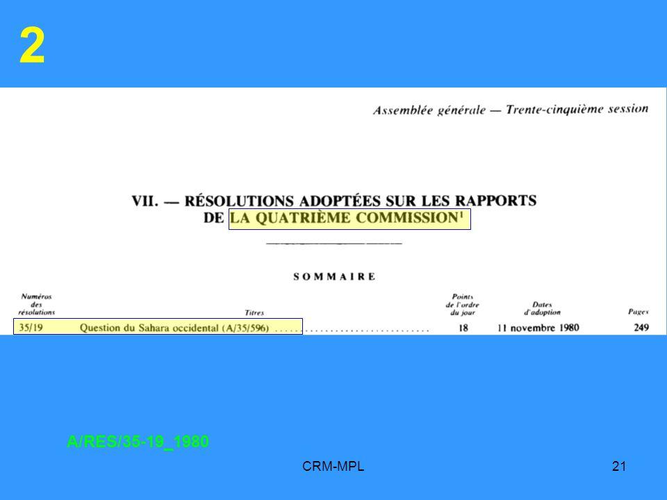 2 A/RES/35-19_1980 CRM-MPL