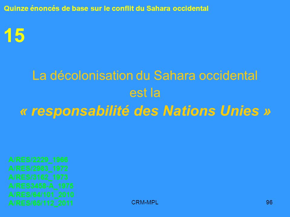 « responsabilité des Nations Unies »