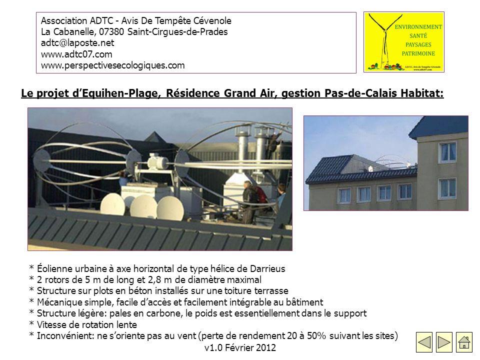 Le projet d'Equihen-Plage, Résidence Grand Air, gestion Pas-de-Calais Habitat: