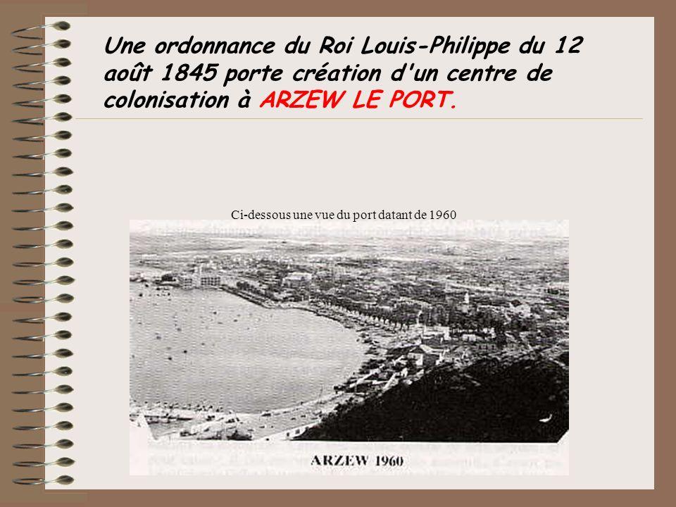 Ci-dessous une vue du port datant de 1960