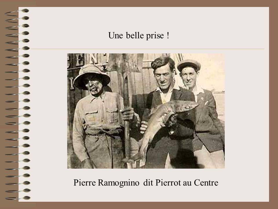 Pierre Ramognino dit Pierrot au Centre