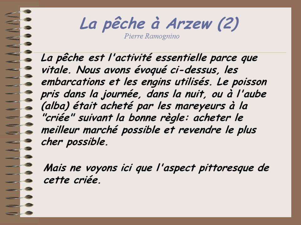 La pêche à Arzew (2) Pierre Ramognino.