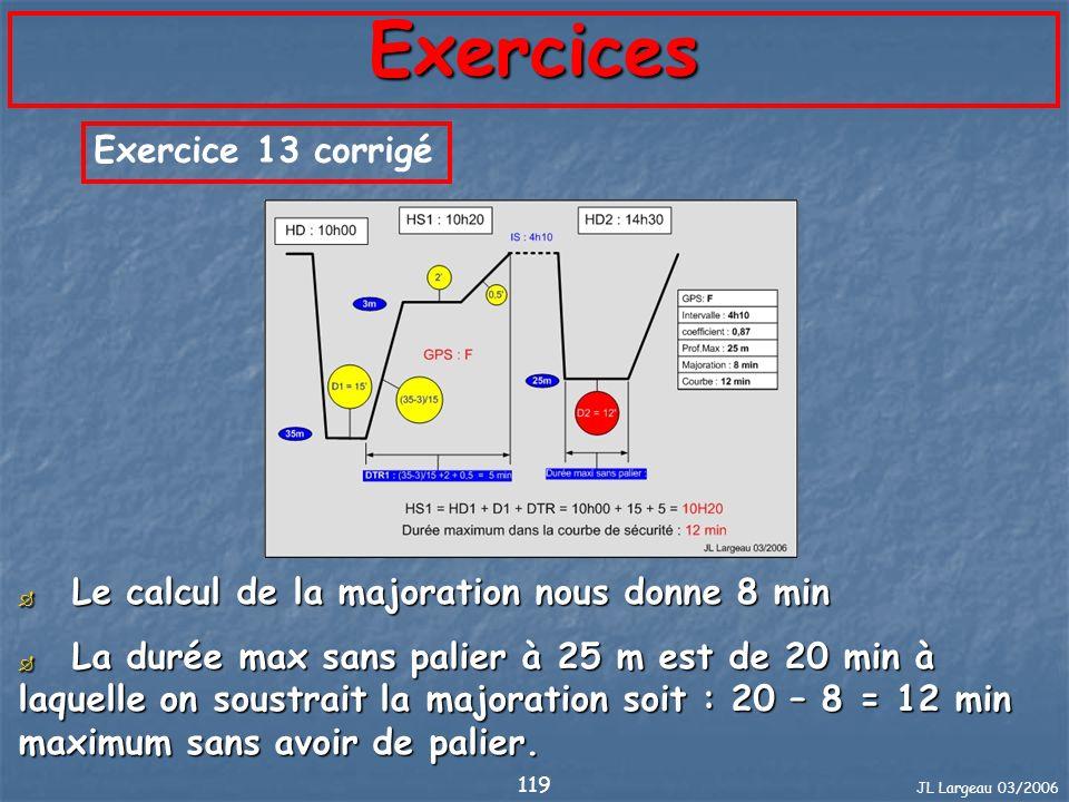Exercices Exercice 13 corrigé